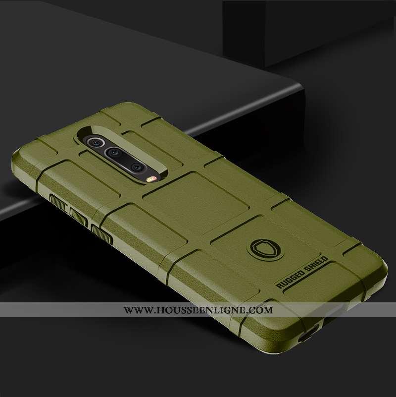 Étui Xiaomi Mi 9t Pro Silicone Protection Rouge Personnalité Tout Compris Téléphone Portable Verte