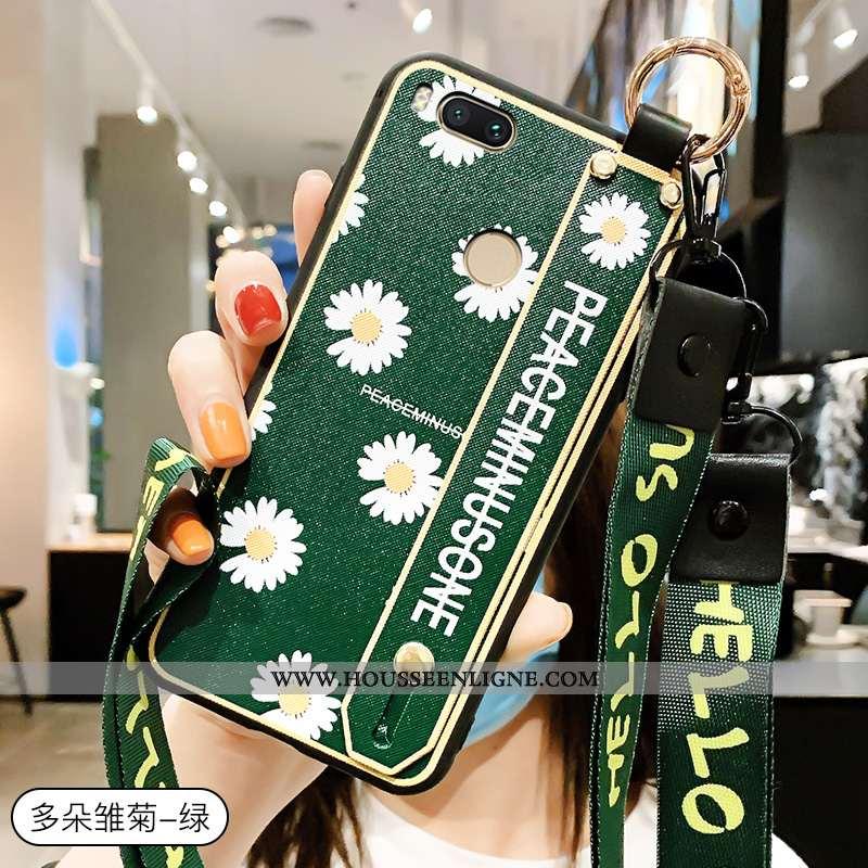 Étui Xiaomi Mi A1 Personnalité Créatif Téléphone Portable Amoureux Petit Mode Verte
