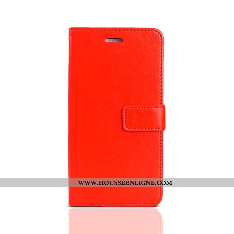 Étui Xiaomi Mi A2 Silicone Protection Rouge Clamshell Téléphone Portable Petit