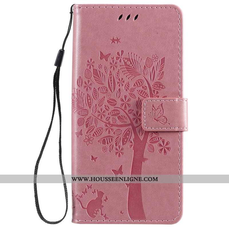 Étui Xiaomi Mi A3 Protection Cuir Silicone Téléphone Portable Incassable Petit Rose