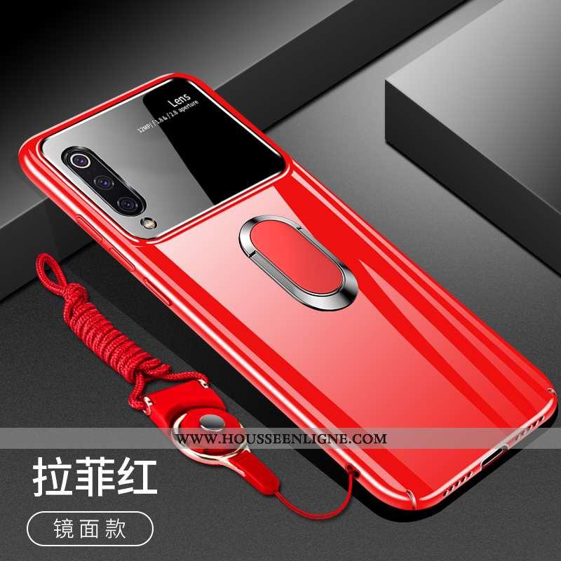 Étui Xiaomi Mi A3 Protection Verre Net Rouge Incassable Personnalité Petit Difficile