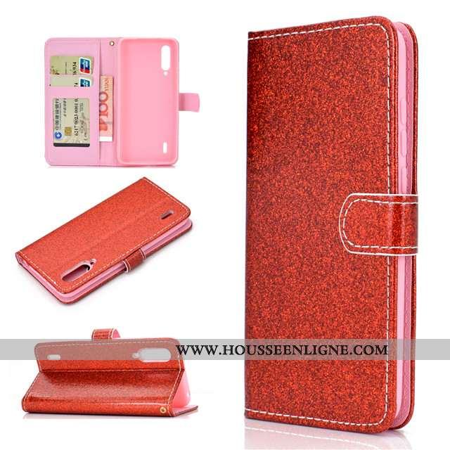 Étui Xiaomi Mi A3 Silicone Protection Coque Petit Tout Compris Clamshell Téléphone Portable Rouge