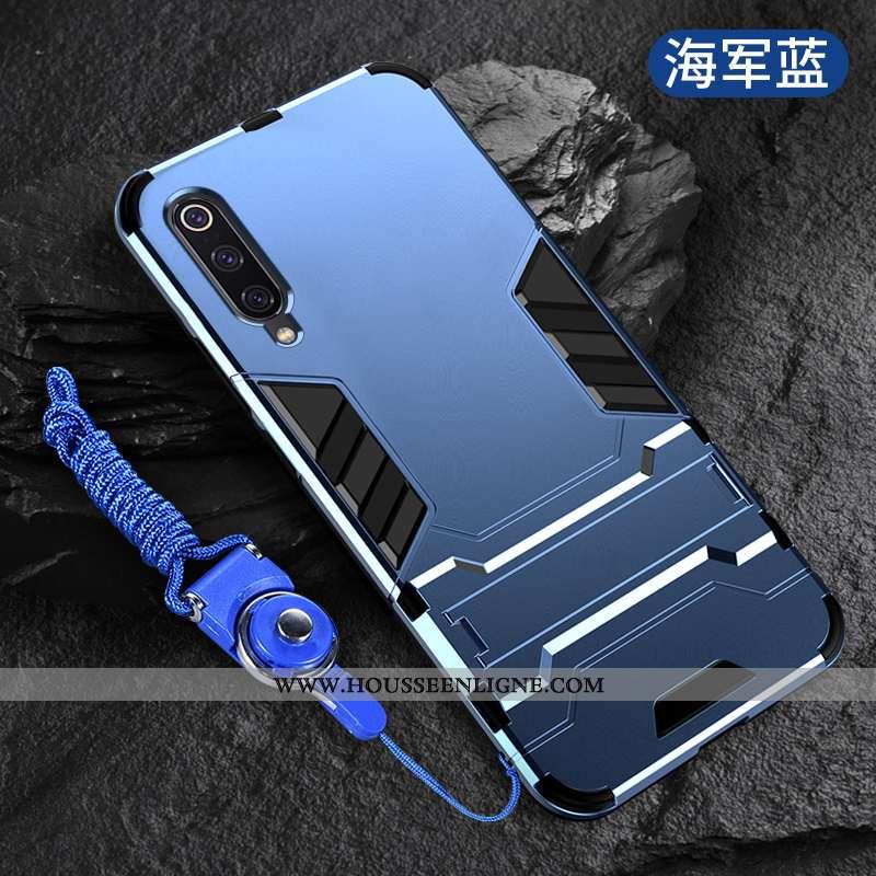 Étui Xiaomi Mi A3 Silicone Protection Tendance Créatif Ballon Marine Personnalité Bleu Marine