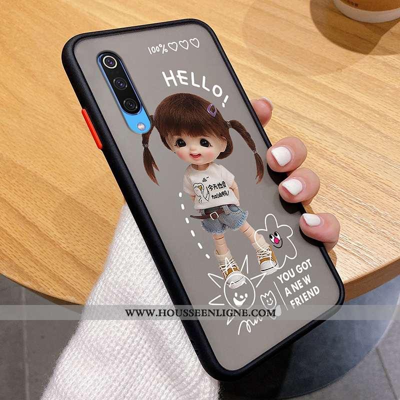 Étui Xiaomi Mi A3 Ultra Tendance Petit Personnalité Mode Téléphone Portable Légère Noir