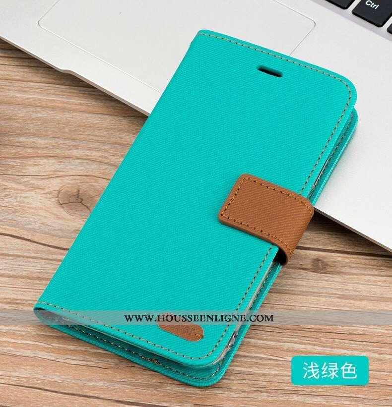 Étui Xiaomi Mi Max 3 Cuir Luxe Housse Petit Coque Téléphone Portable Grand Bleu