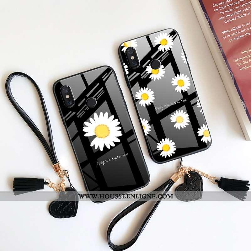 Étui Xiaomi Mi Max 3 Mode Protection Tout Compris Coque Dragon Petit Petite Marguerite Noir