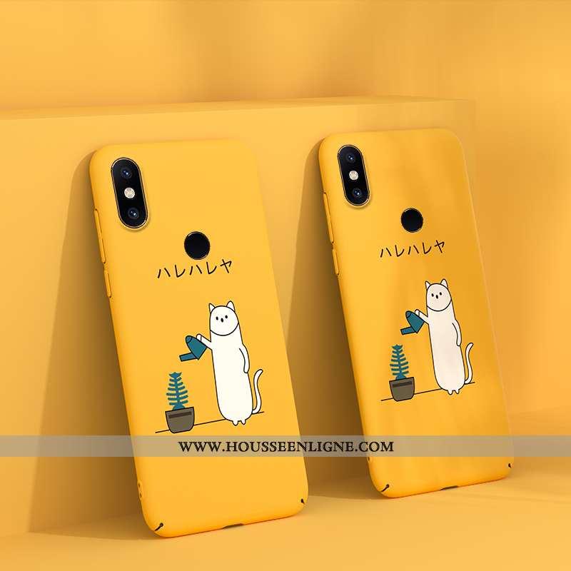 Étui Xiaomi Mi Mix 2s Tendance Légère Créatif Incassable Téléphone Portable Luxe Délavé En Daim Jaun
