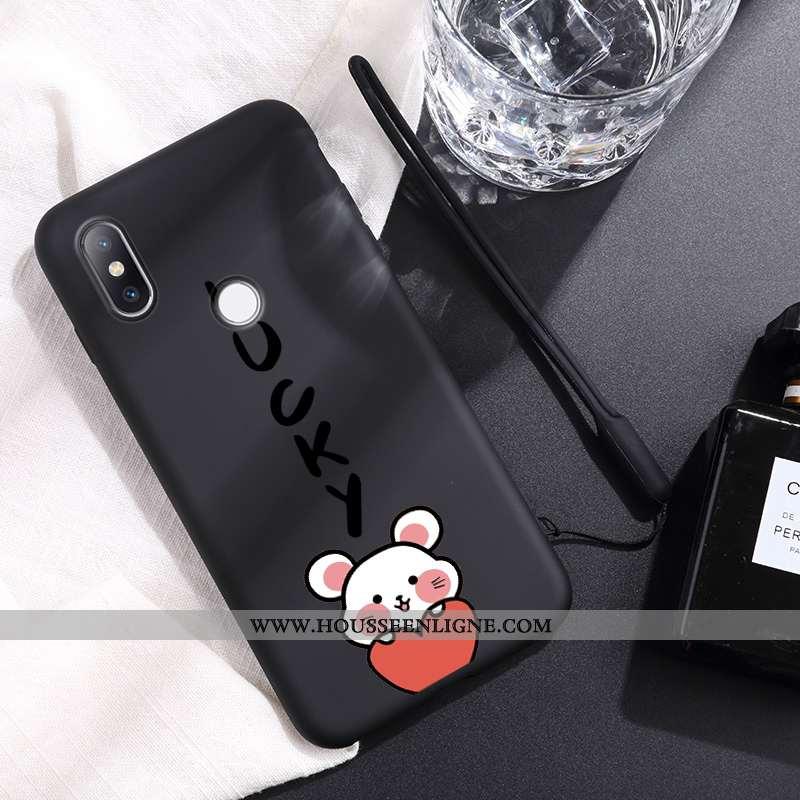 Étui Xiaomi Mi Mix 2s Ultra Tendance Amoureux Nouveau Noir Net Rouge Téléphone Portable