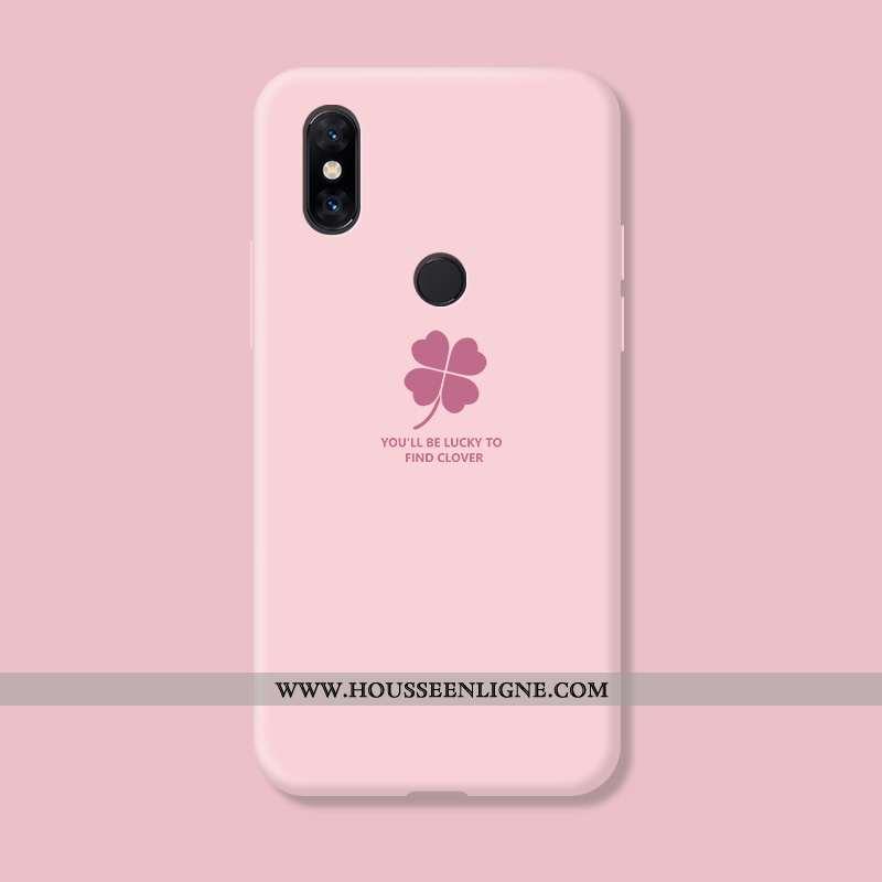 Étui Xiaomi Mi Mix 3 Créatif Fluide Doux Petit Téléphone Portable Incassable Personnalité Silicone R
