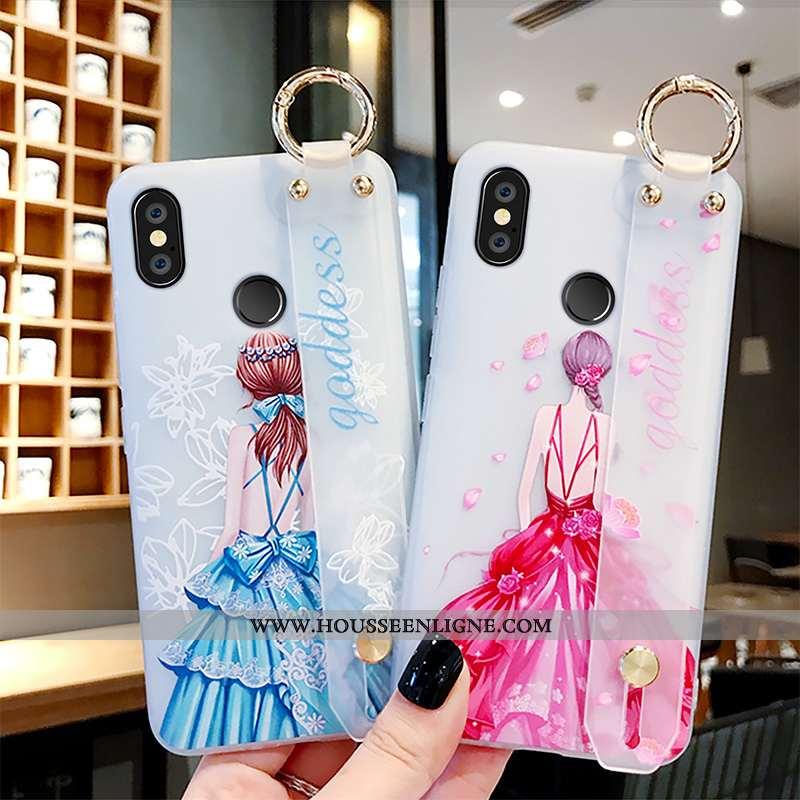 Étui Xiaomi Mi Mix 3 Créatif Protection Incassable Personnalité Téléphone Portable Rose Nouveau