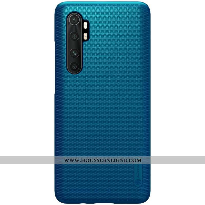 Étui Xiaomi Mi Note 10 Lite Légère Protection Coque Téléphone Portable Petit Incassable Bleu
