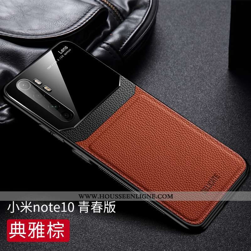 Étui Xiaomi Mi Note 10 Lite Modèle Fleurie Fluide Doux Qualité Nouveau Protection Cuir Tout Compris