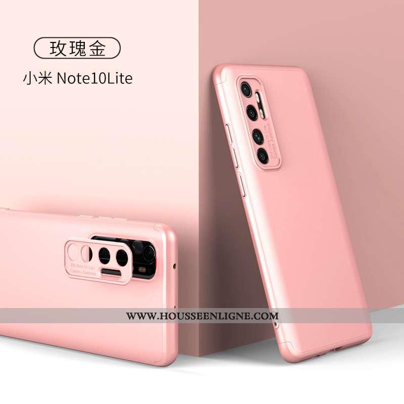 Étui Xiaomi Mi Note 10 Lite Protection Délavé En Daim Jeunesse Créatif Nouveau Net Rouge Tendance Ro
