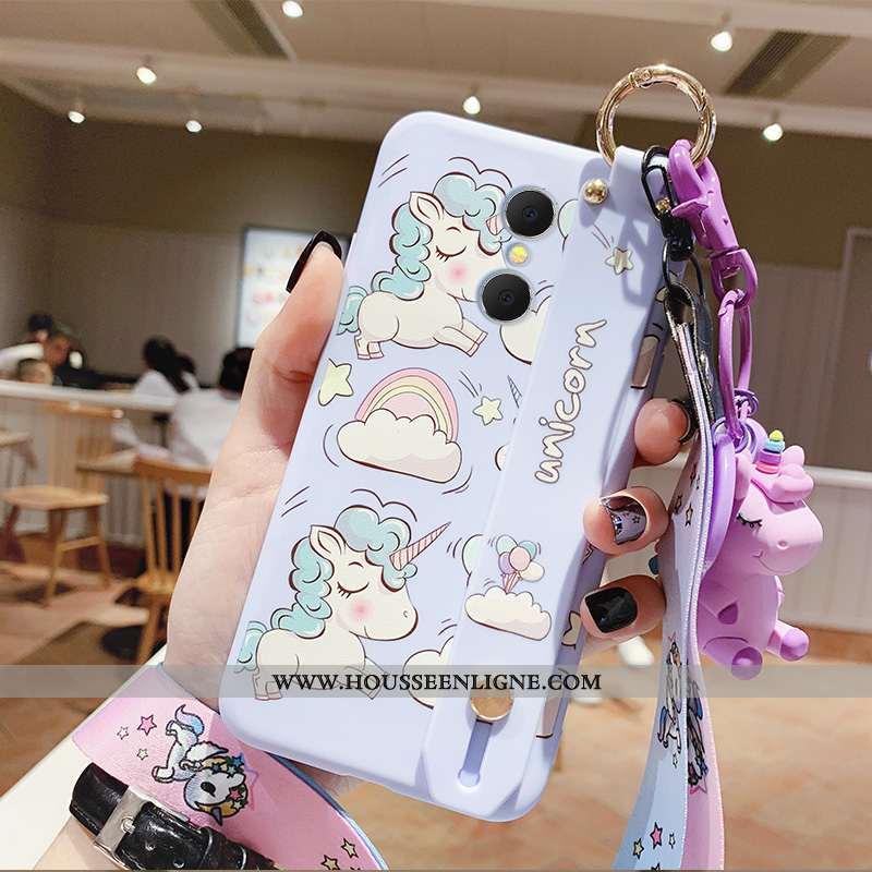 Étui Xiaomi Redmi 5 Charmant Silicone Téléphone Portable Cœur Ornements Suspendus Coque Bleu