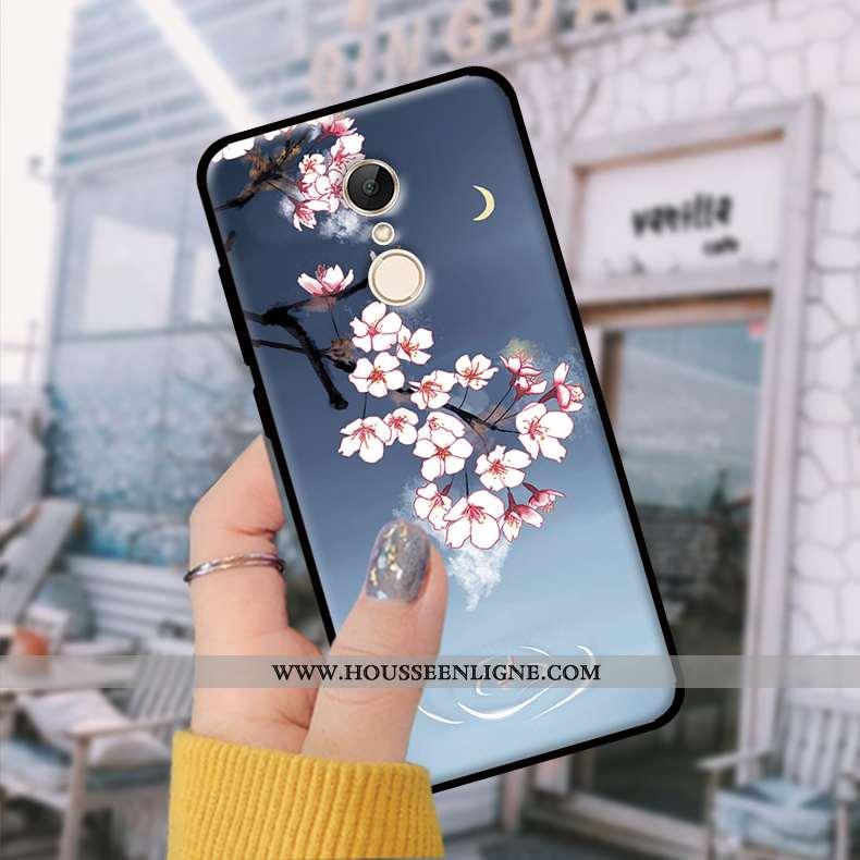 Étui Xiaomi Redmi 5 Fluide Doux Tendance Bleu Incassable Téléphone Portable Coque