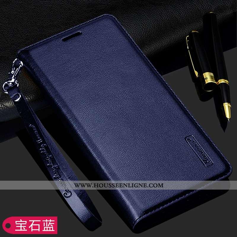 Étui Xiaomi Redmi 5 Protection Cuir Bleu Marin Petit Téléphone Portable Rose Bleu Foncé
