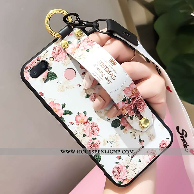 Étui Xiaomi Redmi 6 Fluide Doux Silicone Personnalité Tout Compris Téléphone Portable Incassable Bla