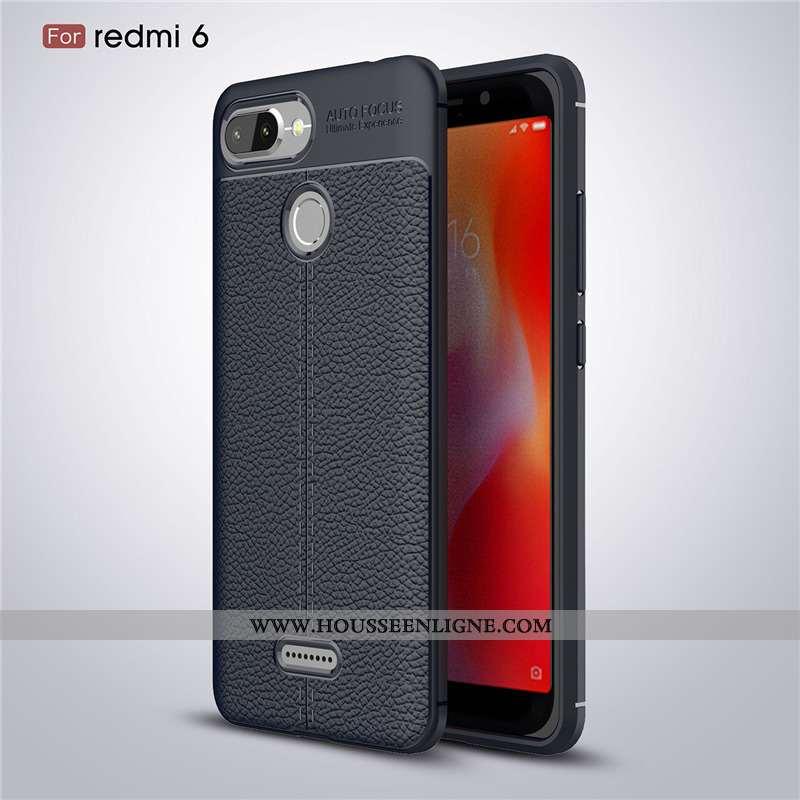 Étui Xiaomi Redmi 6 Mode Protection Téléphone Portable Coque Luxe Ultra Noir