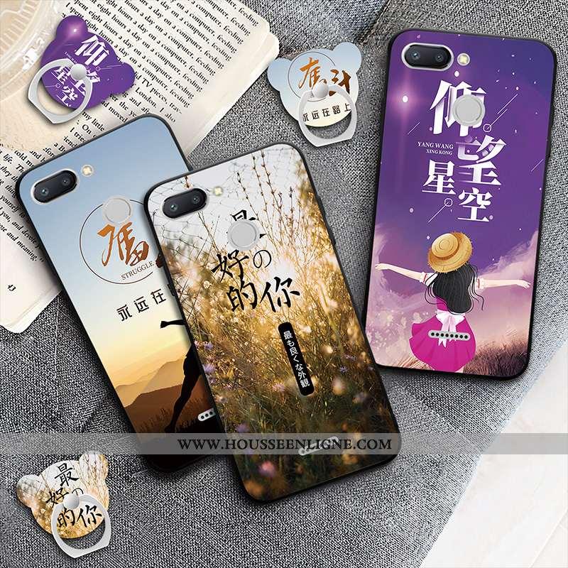 Étui Xiaomi Redmi 6 Protection Rouge Téléphone Portable Incassable Violet Coque