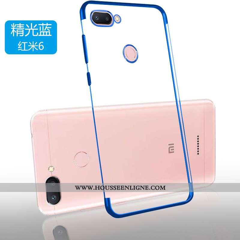 Étui Xiaomi Redmi 6 Ultra Tendance Sentir Incassable Protection Bleu