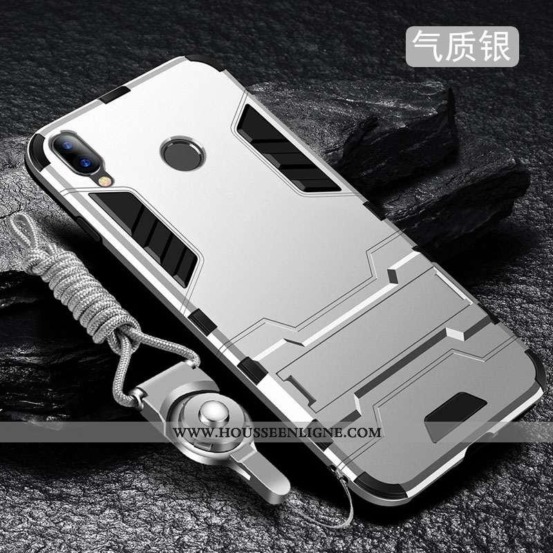 Étui Xiaomi Redmi 7 Délavé En Daim Tendance Incassable Tout Compris Protection Téléphone Portable Si