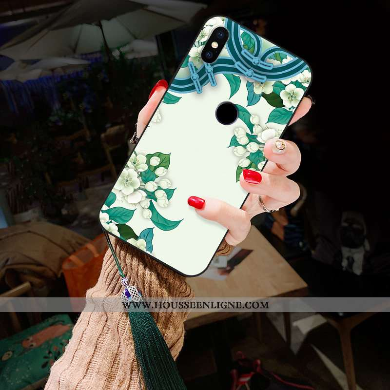 Étui Xiaomi Redmi Note 5 Délavé En Daim Fleur Classiques Pivoine Style Chinois Téléphone Portable Ha