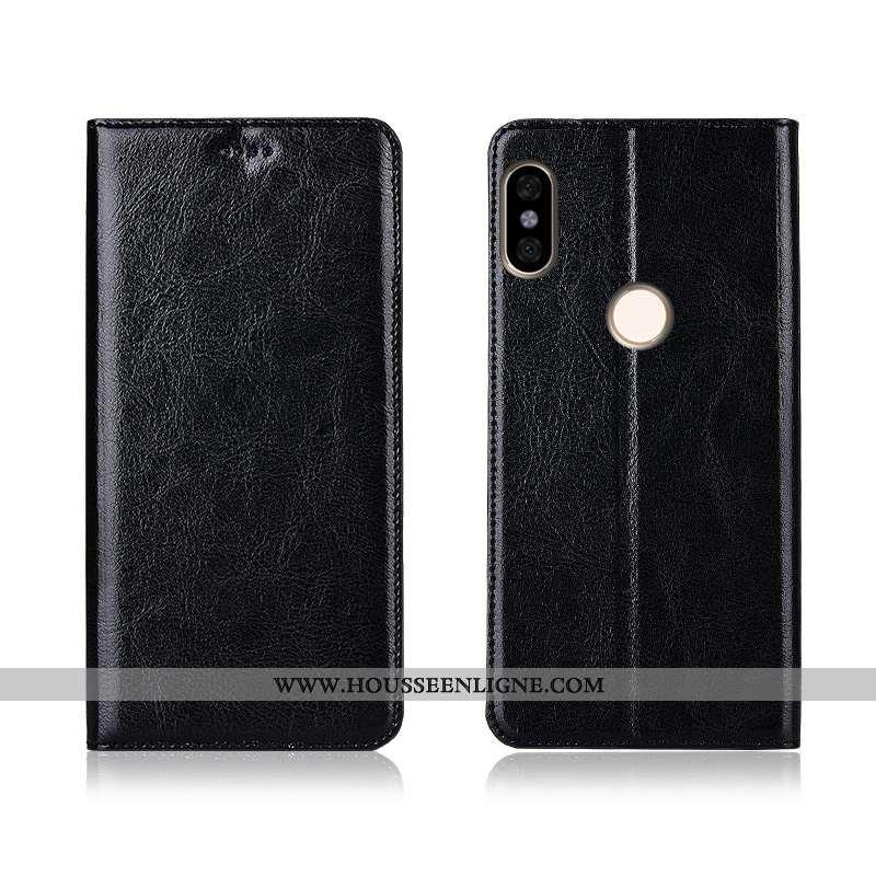 Étui Xiaomi Redmi Note 6 Pro Cuir Modèle Fleurie Tout Compris Coque Incassable Petit Protection Véri