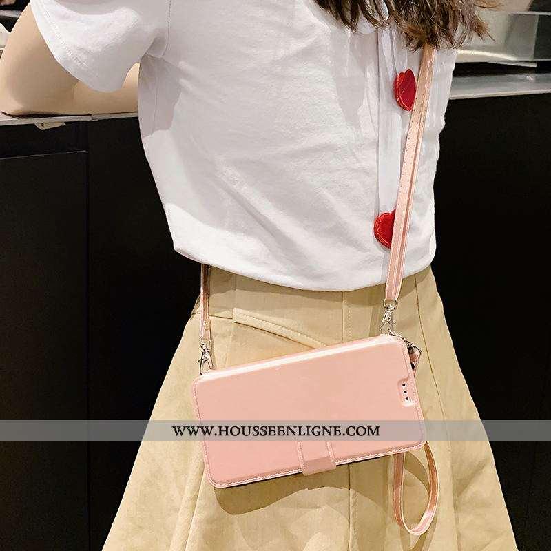Étui Xiaomi Redmi Note 6 Pro Cuir Tout Compris Qualité Incassable Coque Housse Rose