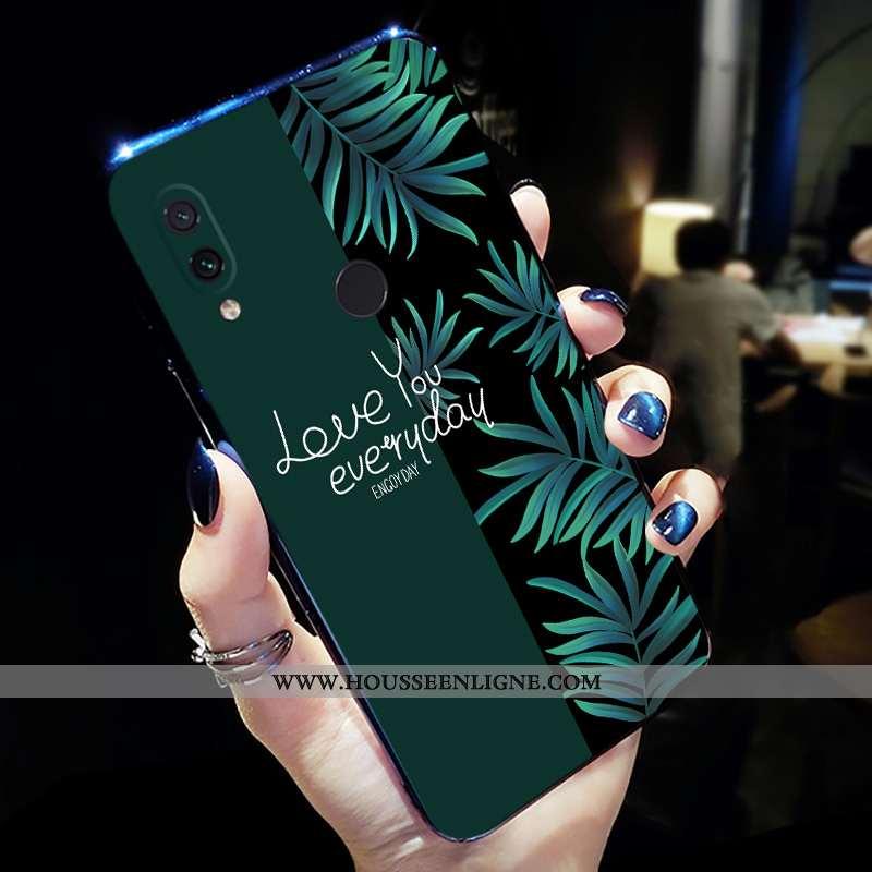 Étui Xiaomi Redmi Note 7 Personnalité Créatif Incassable Frais Tout Compris Coque Vert Verte