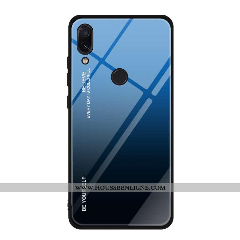 Étui Xiaomi Redmi Note 7 Personnalité Créatif Tout Compris Petit Dégradé Verre Téléphone Portable Bl