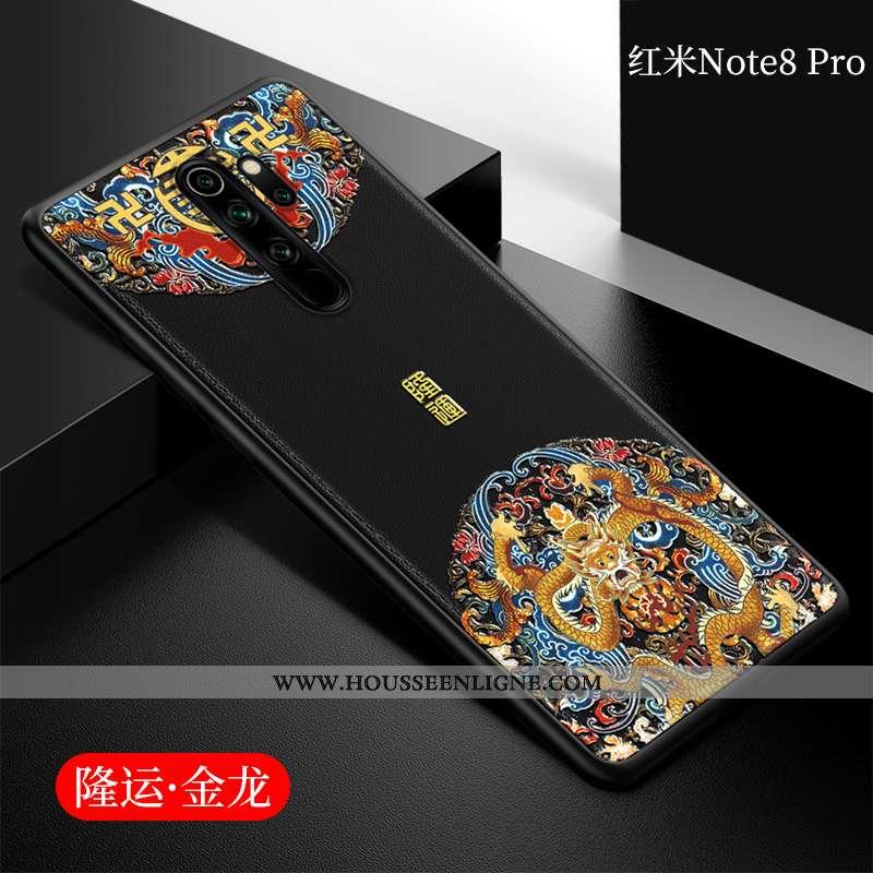 Étui Xiaomi Redmi Note 8 Pro Fluide Doux Protection Coque Incassable Petit Téléphone Portable Tout C
