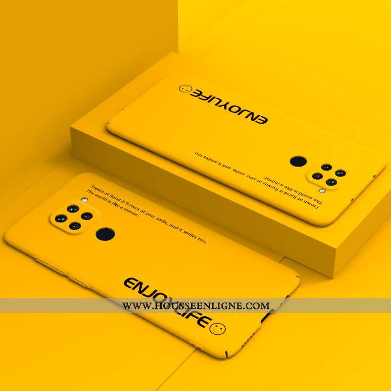 Étui Xiaomi Redmi Note 9 Créatif Tendance Coque Téléphone Portable Tout Compris Jaune