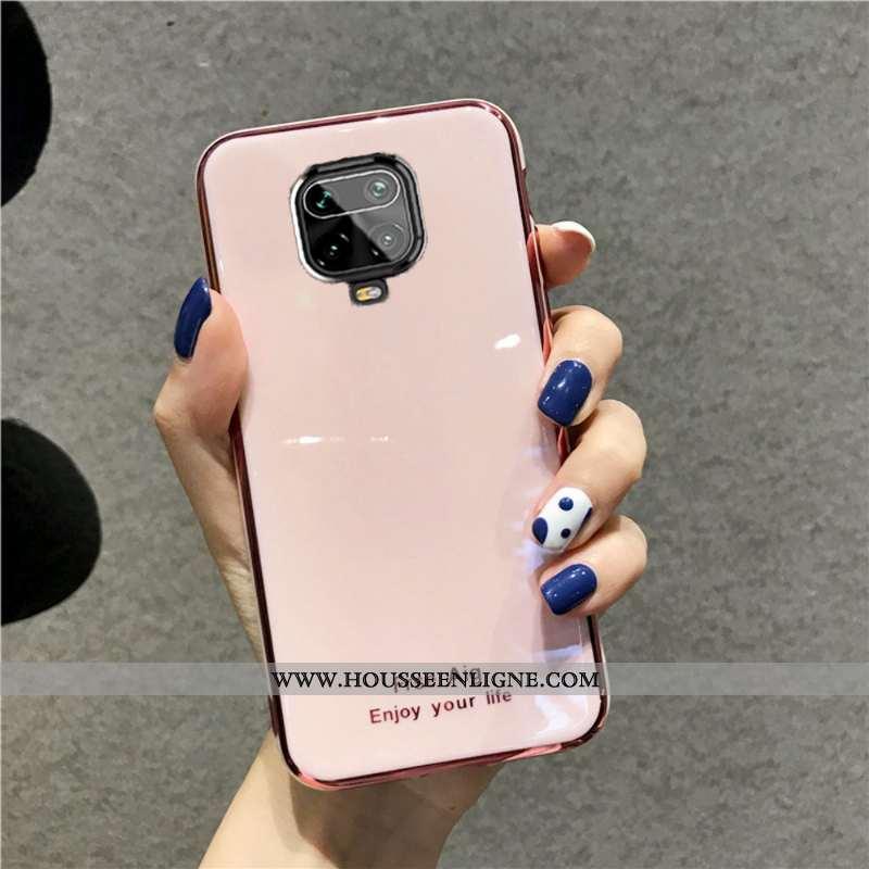Étui Xiaomi Redmi Note 9 Pro Charmant Tendance Net Rouge Incassable Téléphone Portable Amoureux Sili