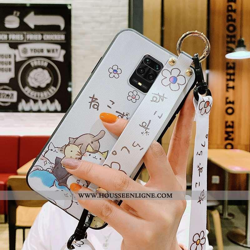 Étui Xiaomi Redmi Note 9 Pro Créatif Dessin Animé Ornements Suspendus Personnalité Téléphone Portabl
