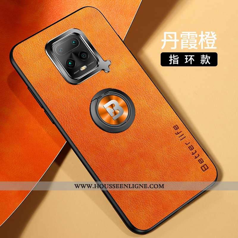 Étui Xiaomi Redmi Note 9 Pro Créatif Tendance Net Rouge Personnalité Silicone Petit Orange