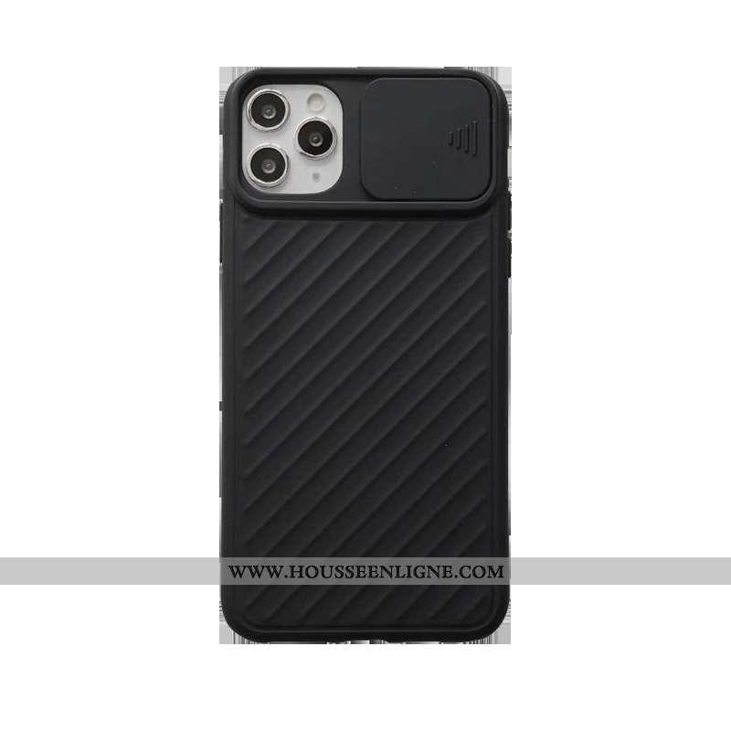 Étui iPhone 11 Pro Tendance Fluide Doux Petit Tout Compris Nouveau Protection Noir