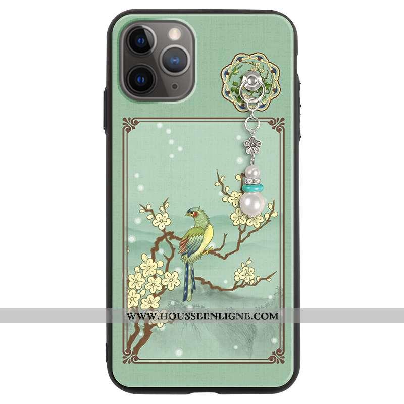 Étui iPhone 11 Pro Ultra Tendance Légère Tout Compris Incassable Silicone Créatif Verte