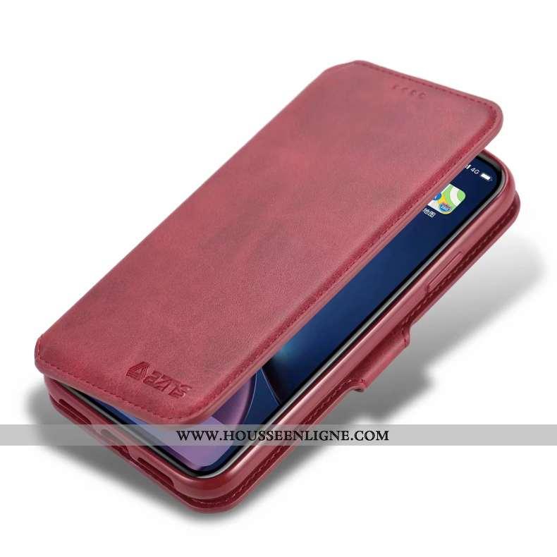 Étui iPhone 11 Silicone Protection Luxe Tempérer Incassable Housse Rouge