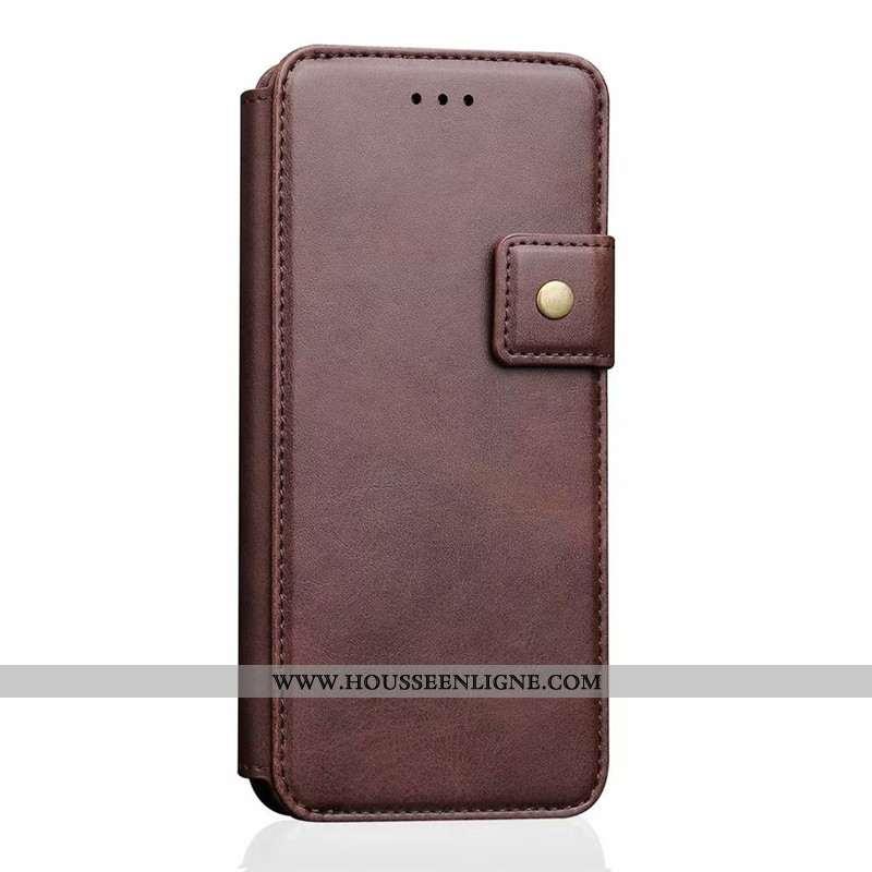 Étui iPhone 6/6s Plus Cuir Protection Coque Housse Créatif Téléphone Portable Nouveau Marron