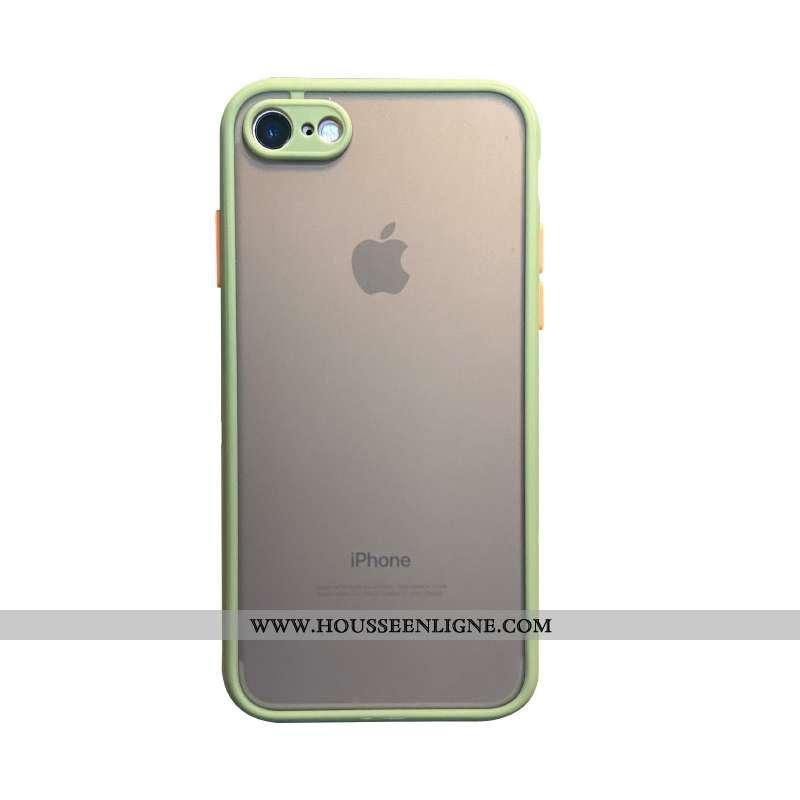 Étui iPhone 6/6s Plus Délavé En Daim Tendance Vert Nouveau Téléphone Portable Coque Sentir Verte