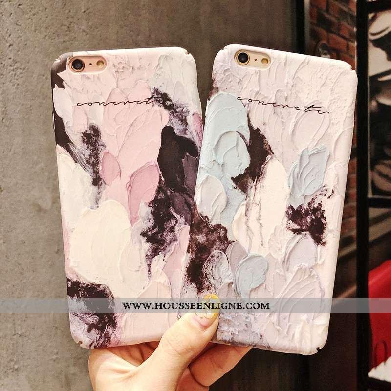 Étui iPhone 6/6s Plus Vintage Délavé En Daim Graffiti Tout Compris Bordure Téléphone Portable Art Vi