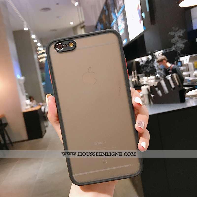 Étui iPhone 8 Silicone Protection Téléphone Portable Incassable Coque Noir