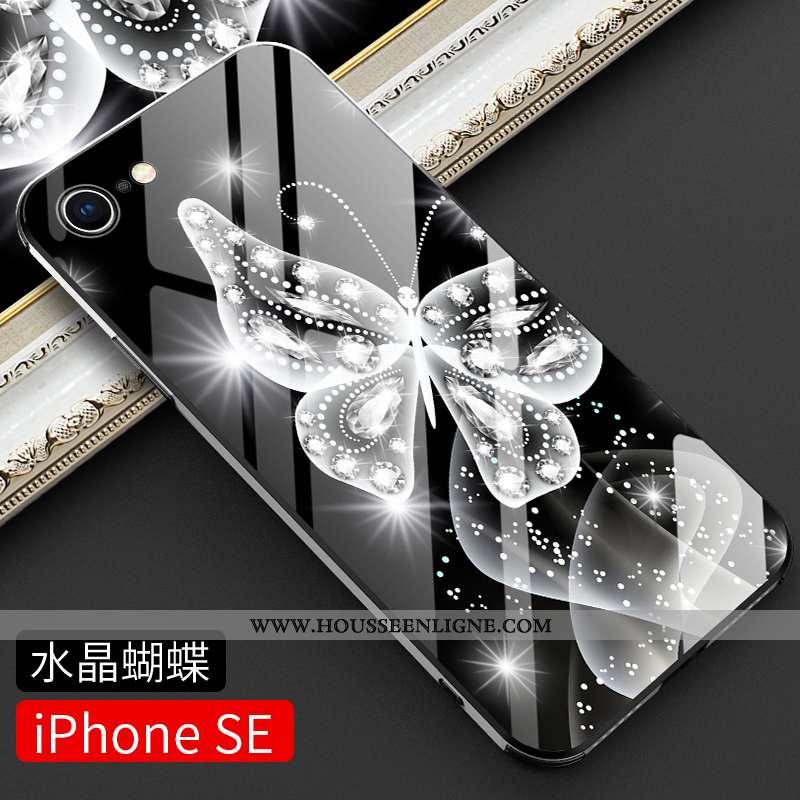Étui iPhone Se (nouveau) Légère Protection Tendance Nouveau Ultra Noir