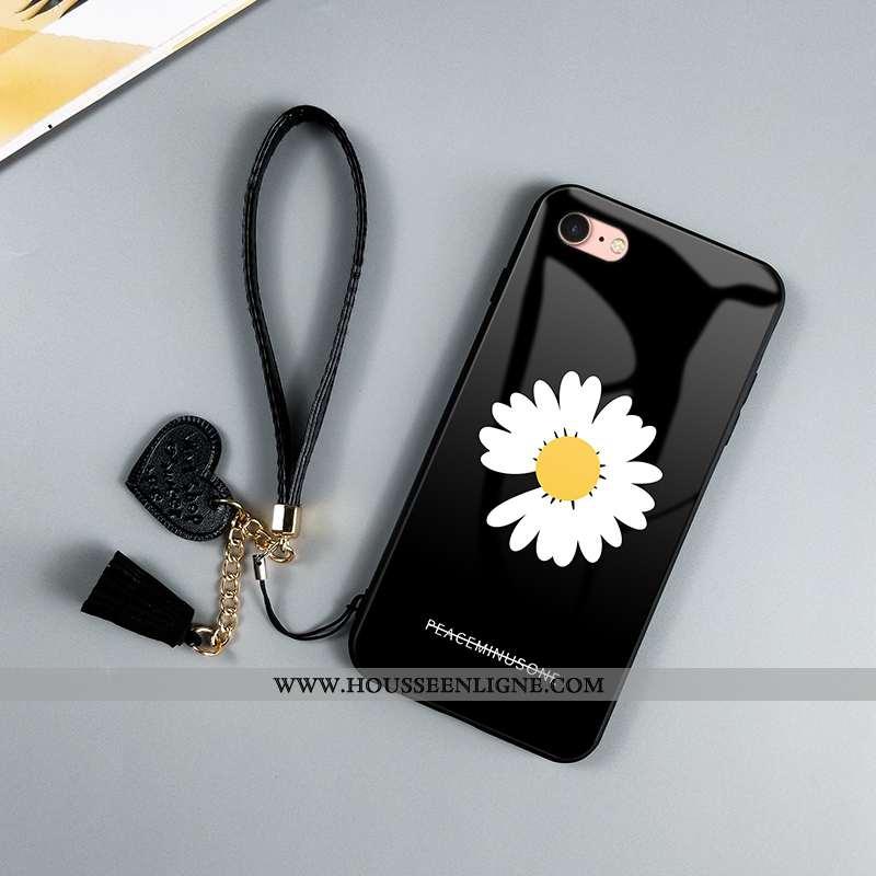 Étui iPhone Se (nouveau) Verre Personnalité Fluide Doux Tendance Créatif Téléphone Portable Petite M