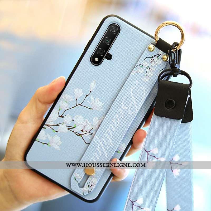 Coque Honor 20 Personnalité Tendance Protection Tout Compris Étui Téléphone Portable Bleu