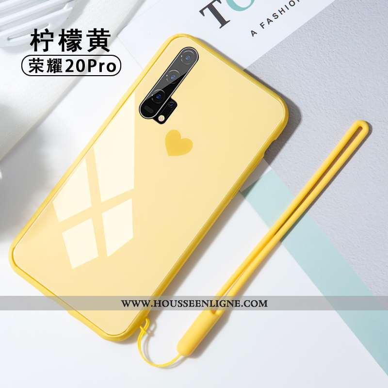 Coque Honor 20 Pro Protection Verre Personnalité Créatif Incassable Tout Compris Téléphone Portable