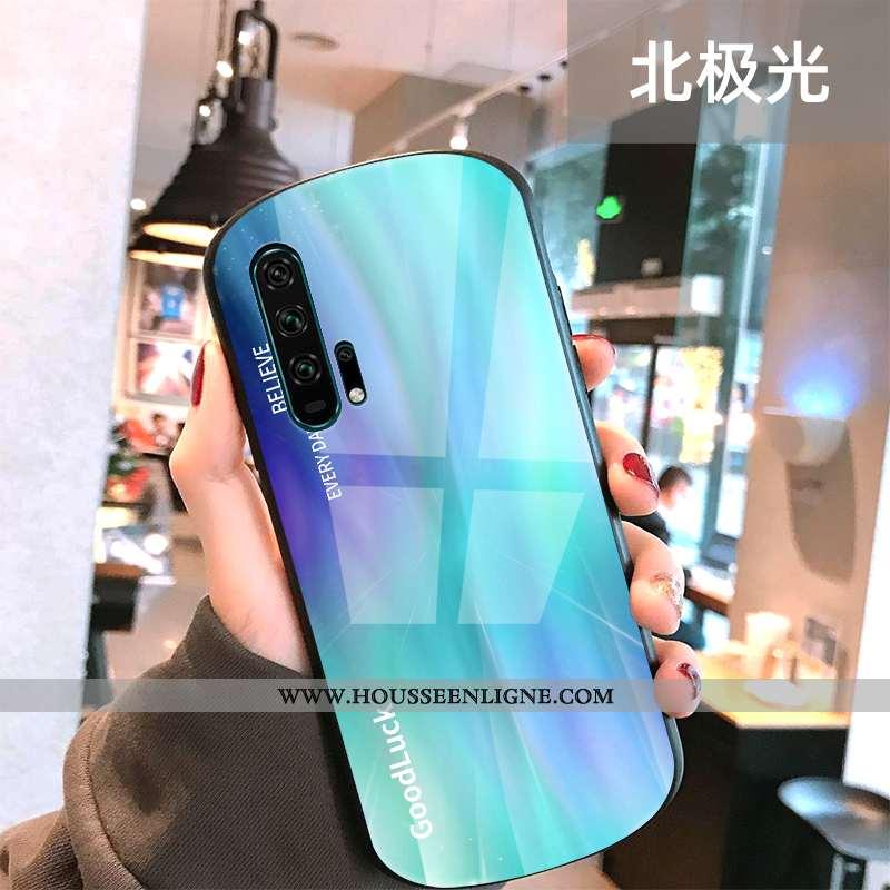 Coque Honor 20 Pro Protection Verre Téléphone Portable Créatif Tendance Cool Verte
