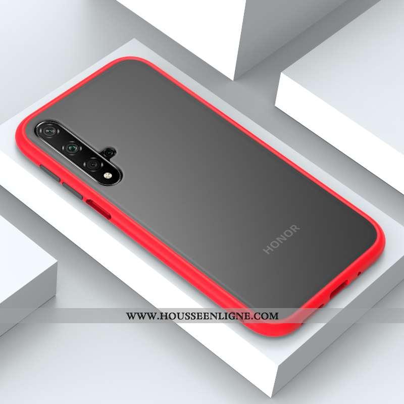 Coque Honor 20 Silicone Protection Téléphone Portable Nouveau Tout Compris Rouge Étui