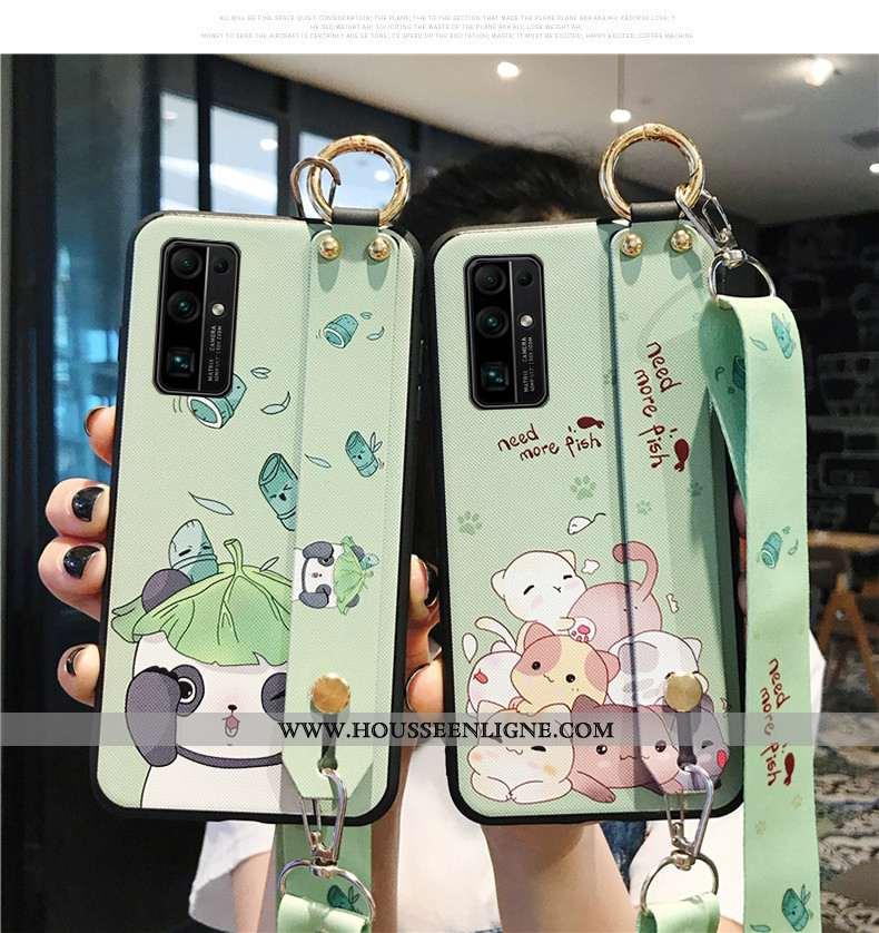 Coque Honor 30 Dessin Animé Ornements Suspendus Téléphone Portable Étui Net Rouge Vert Verte