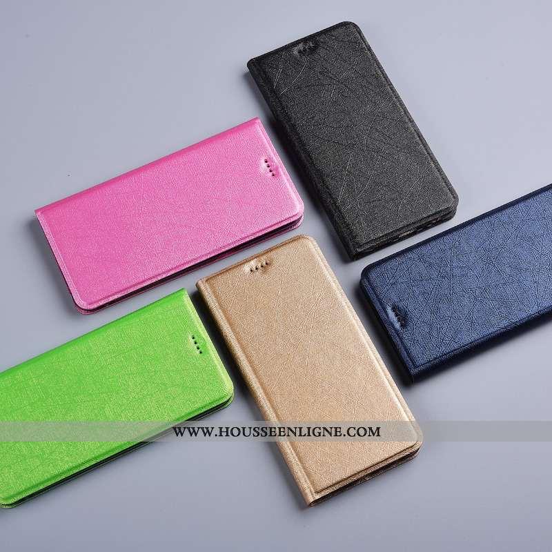 Coque Honor 30 Pro Cuir Protection Téléphone Portable Incassable Rouge Étui Soie Rose